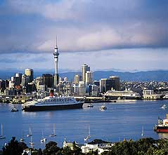 Auckland seems to be new zealand s international gateway city with