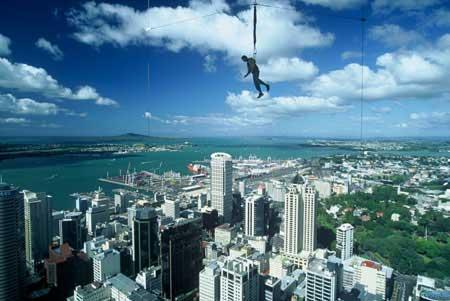 Sky Tower Sky Jump The Auckland Tower